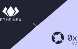 13 марта  децентрализованная биржа Ethfinex перейдет на вторую версию протокола 0x